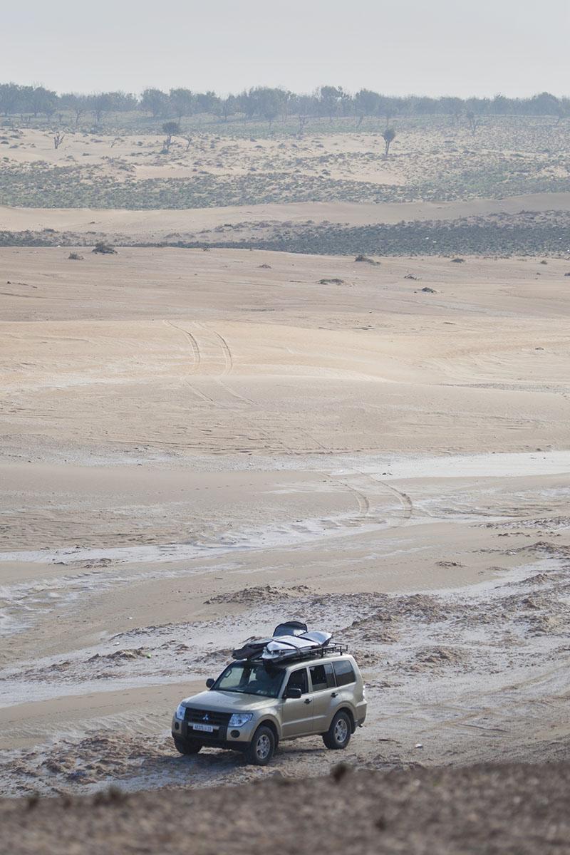 desert transportation