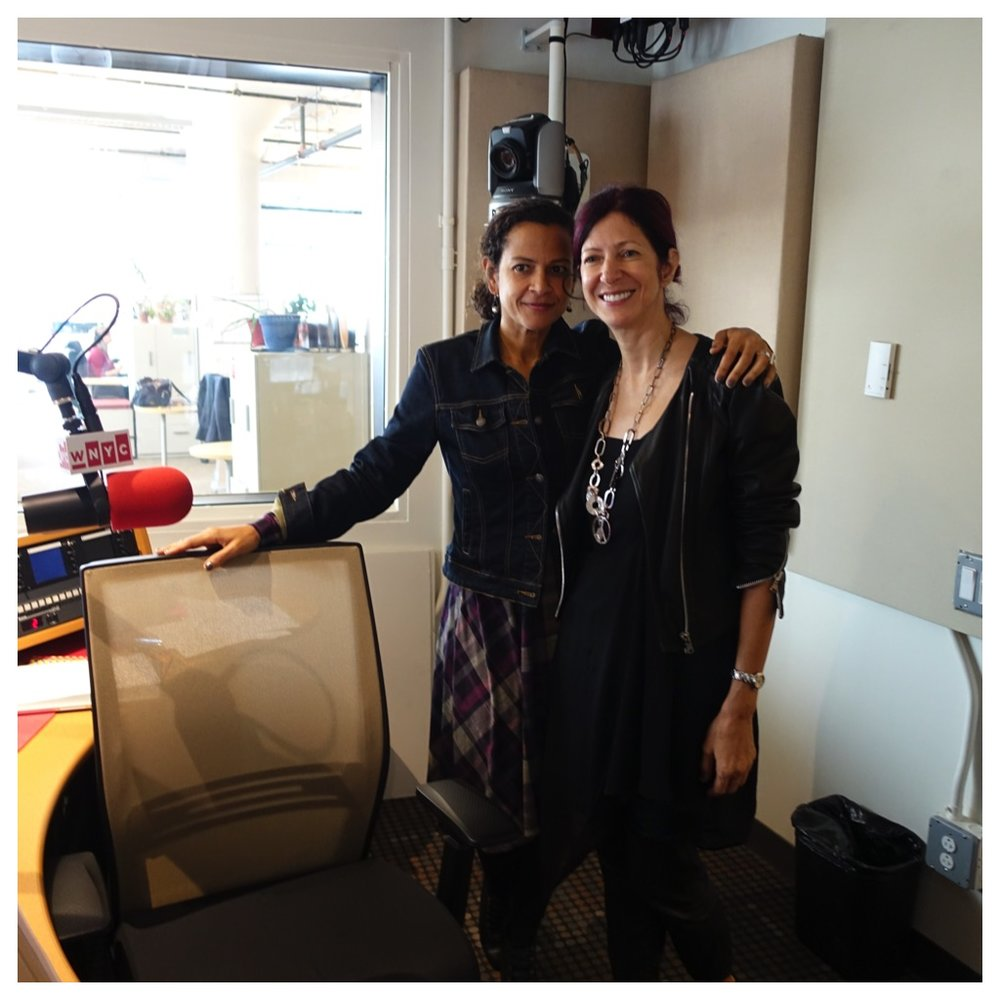 Alison Stewart and Lina Matta
