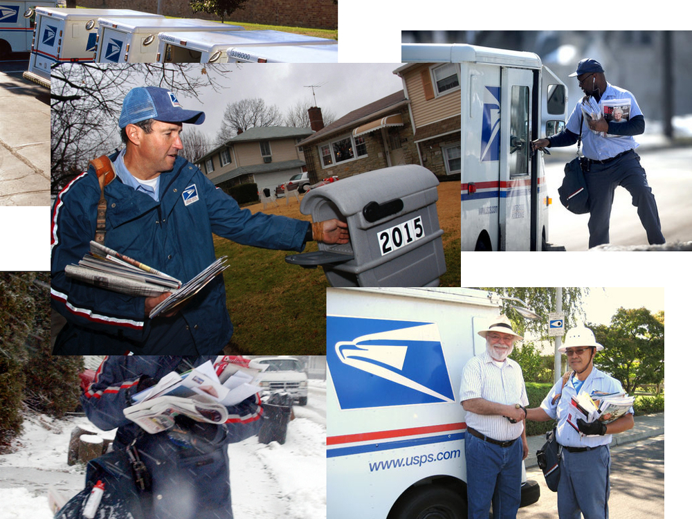 I also think that USPS is in a unique position & potential: it is the only National service that reaches every home in the U.S. by the mail carriers. However, USPSlargely has been the same service for past 100 years.
