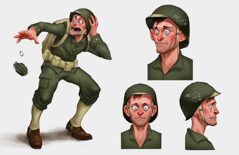 Private Pete Concept