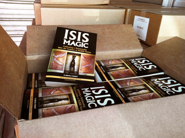 Isis Magic  fresh off the truck