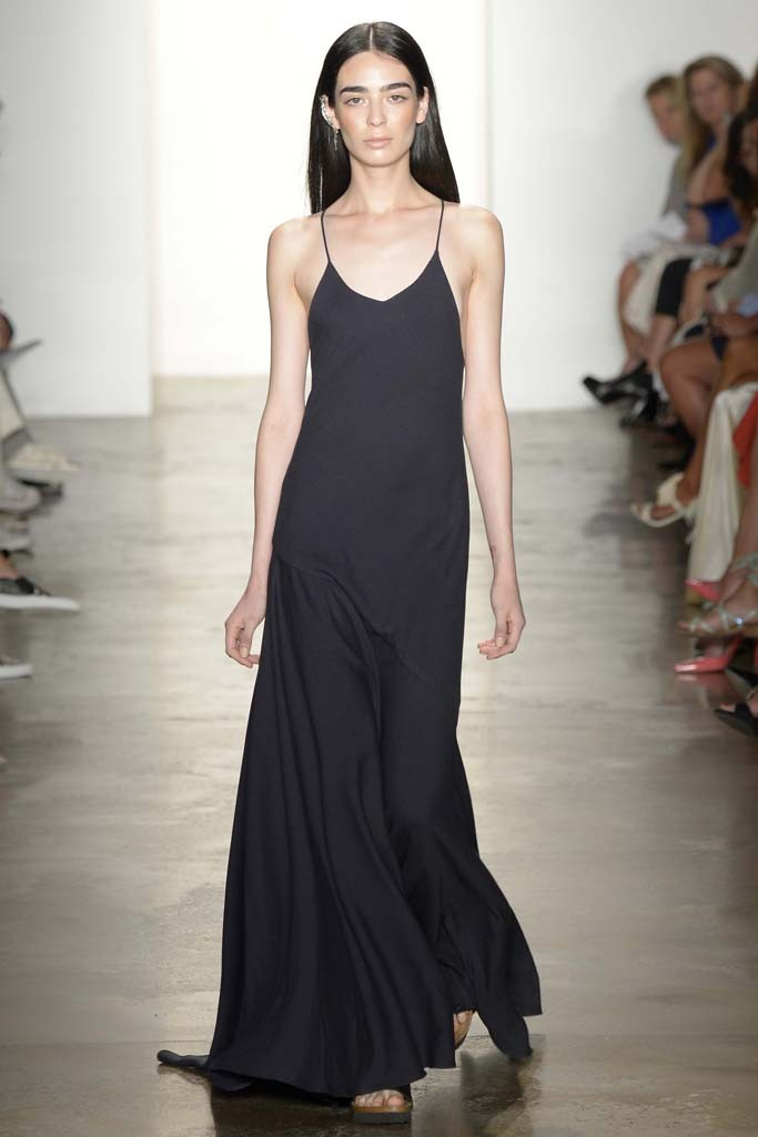 HOUGHTON | NEW YORK FASHION WEEK | RTW SPRING 2015 | WWD  Key Hair: Adam Markarian for Brian Bantry  Photo by Rodin Banica