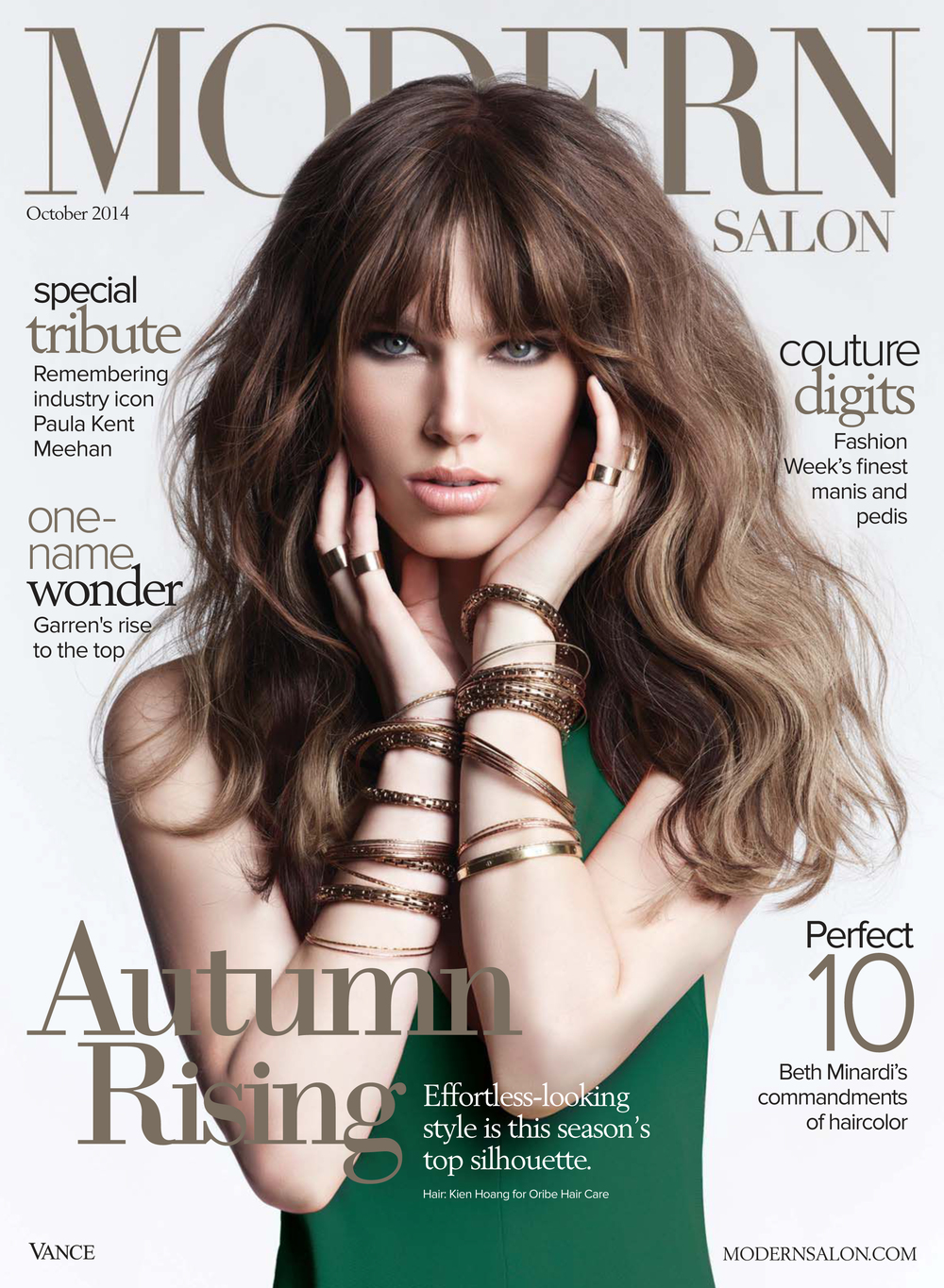 Modern Salon Cover | October Issue | Hair by Kien Hoang