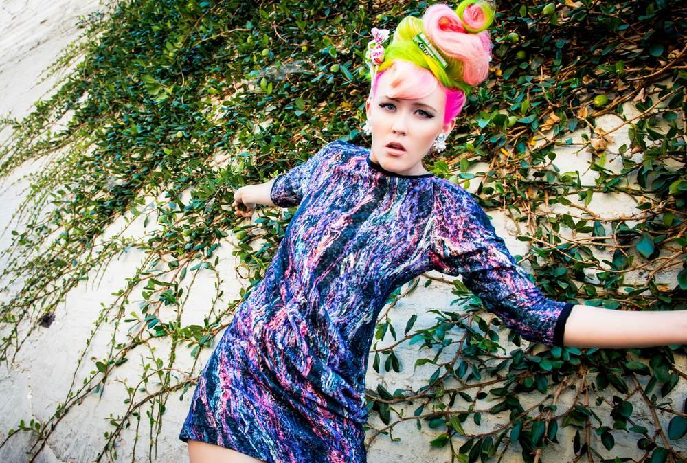 Model: Jess Miller //  Hair: Jenny Singleton | Umbrella Salon //  Make-Up: Dacia Carroll | Umbrella Salon //  Photography:  K   hiem Hoang