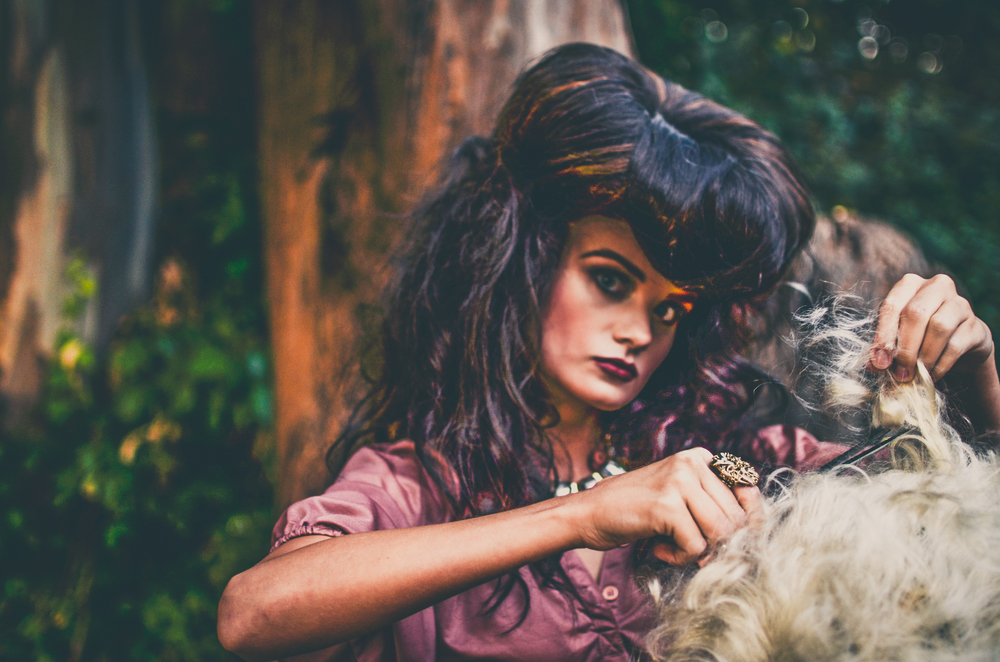 Model: Kayla Cromer //  Hair: Jennifer Singleton  | Umbrella Salon //  Make-Up: Tammy Son //   Photography: Khiem Hoang