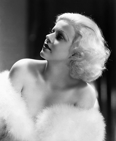 """Jean Harlow (1930s)   """"Before there was Marilyn Monroe there was Jean Harlow. She was the original 'Platinum Blonde.' Her look was very strong; she styled her bright and bleached hair into full waves.""""– Kien Hoang for Oribe Hair Care"""