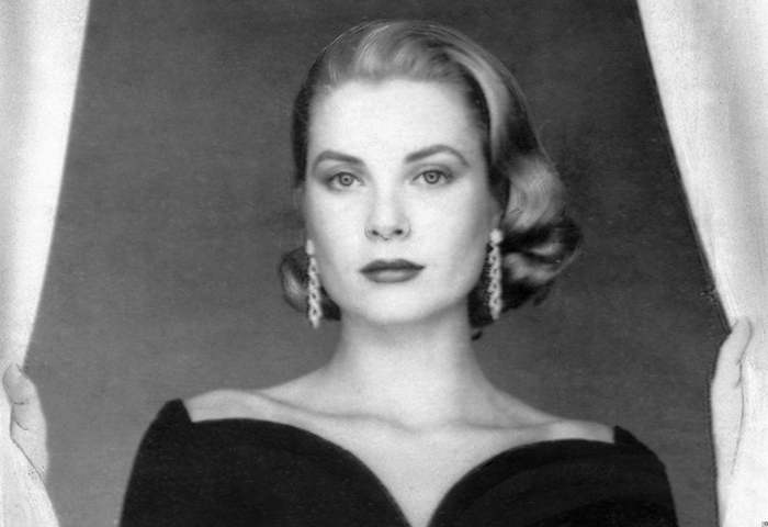 """Grace Kelly (1950s)   """"Grace's blonde made her the muse to Alfred Hitchcock. He was fascinated by the way her hair looked on film. She had a real sense of elegance in how she wore her hair. It was done but not overdone, and her natural color was a beautiful cross between cool and warm tones.""""– Christian"""