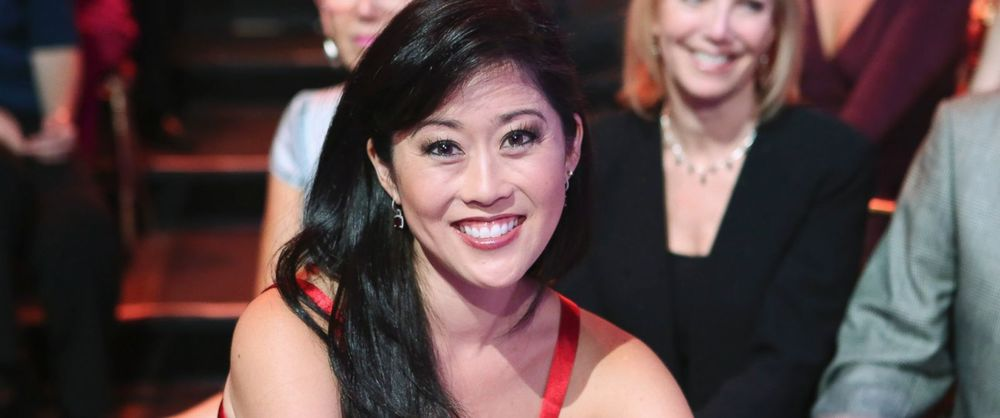 "Kristi Yamaguchi is pictured during the filming of ""Dancing with the Stars: All-Stars"" on Sept. 24, 2012. Courtesy Image: Adam Taylor/ABC via Getty Images"