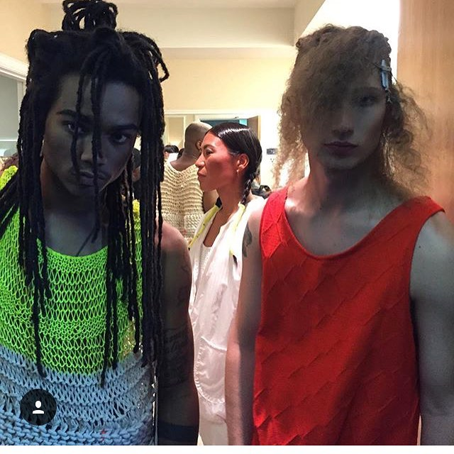 SIR NEW YORK #NYFW #SS17 #BTS