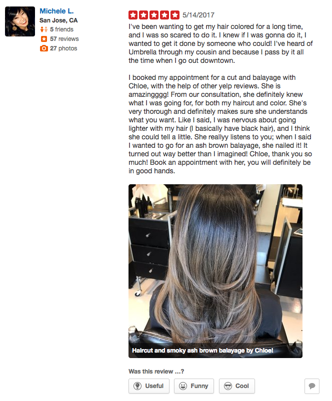 I Booked My Appointment For A Cut And Balayage With Chloe With The