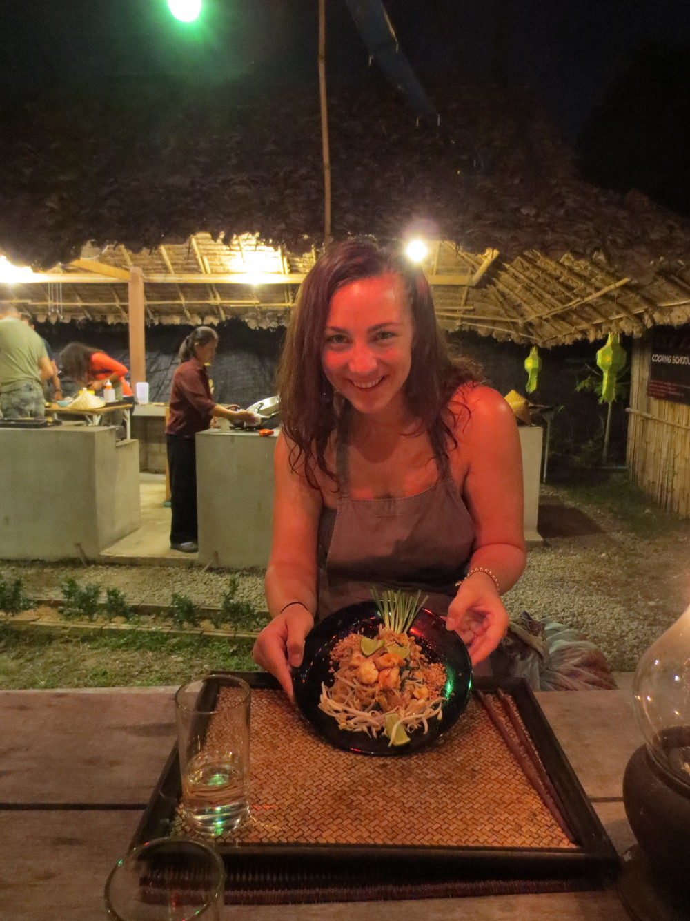 Jess' Pad Thai in the Land of Smiles (click image for more photos)