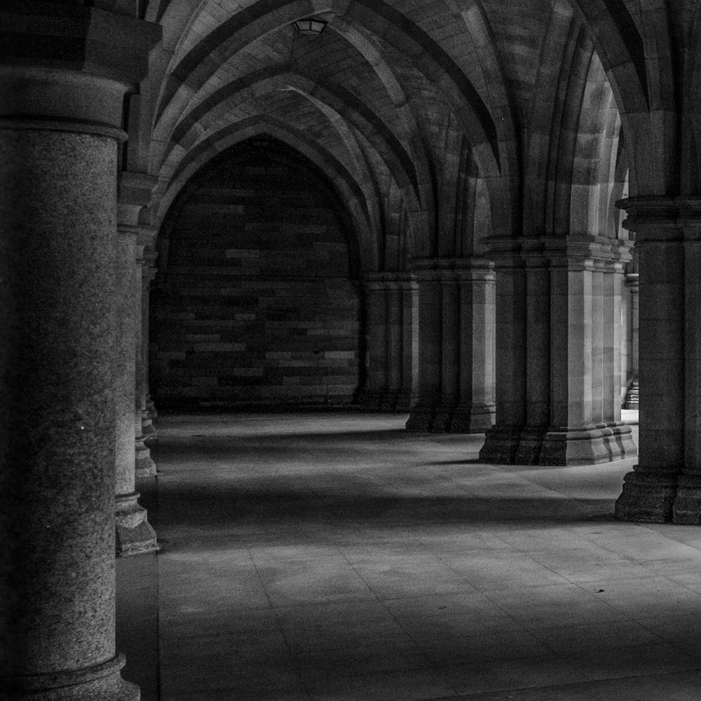 Glasgow University Cloisters | July 2016