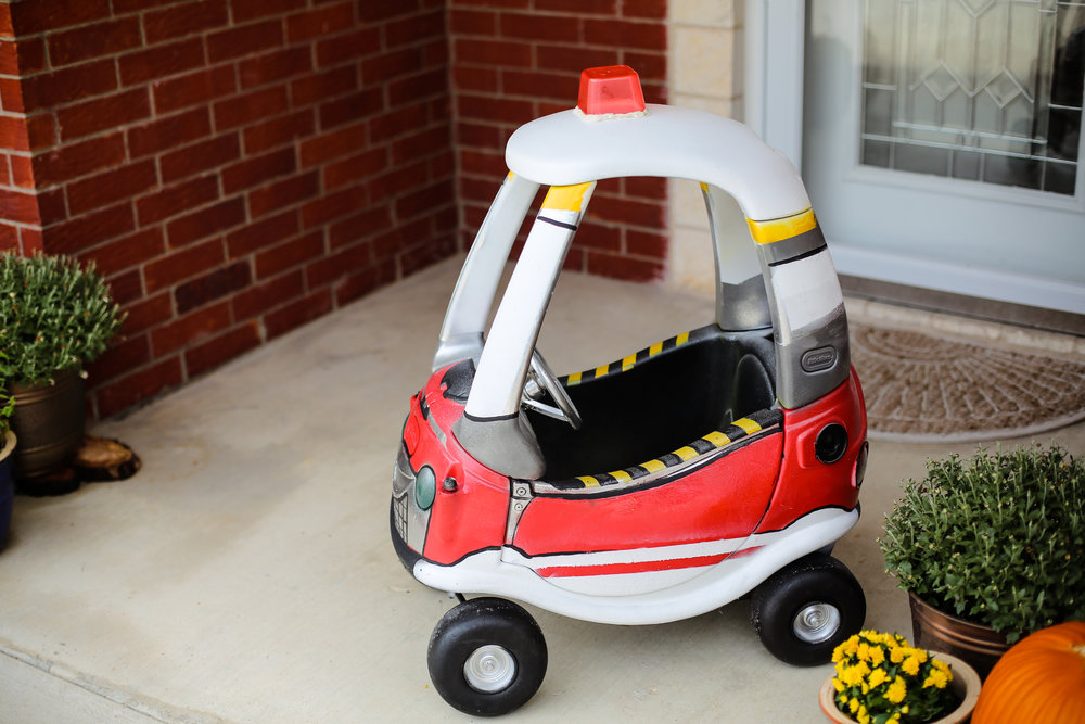 fire truck little tikes