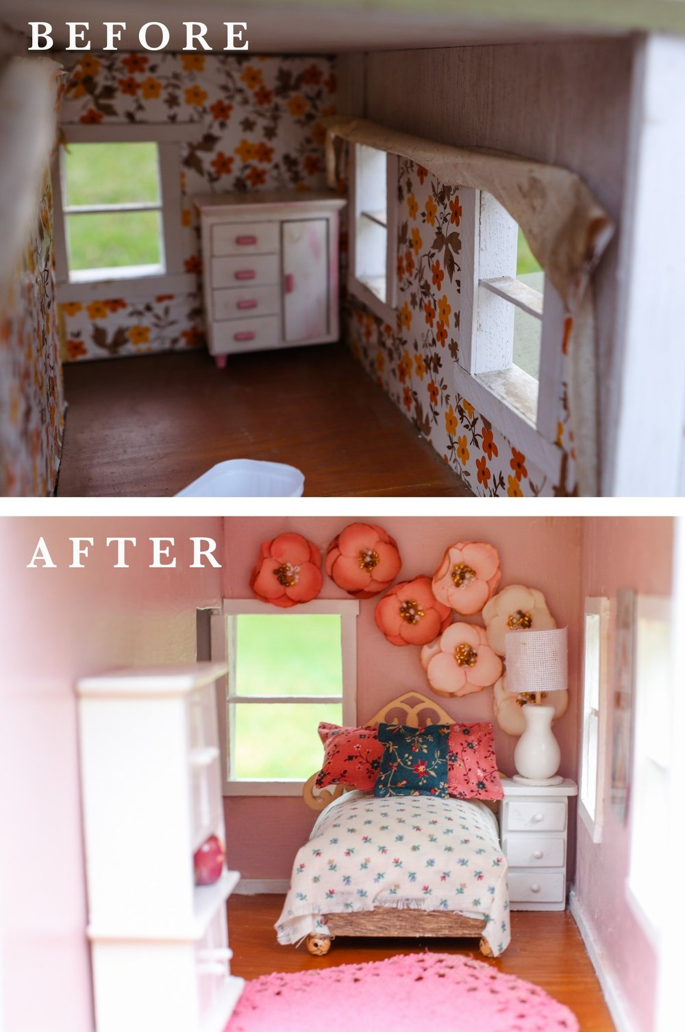 FIXER UPPER DOLLHOUSE BEDROOM