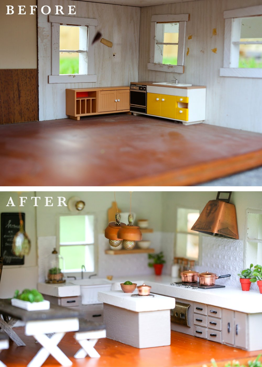 FIXER UPPER DOLLHOUSE KITCHEN