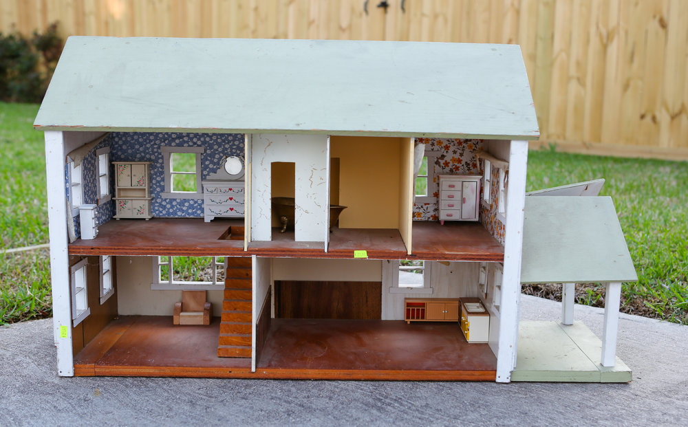 FIXER UPPER DOLLHOUSE BEFORE