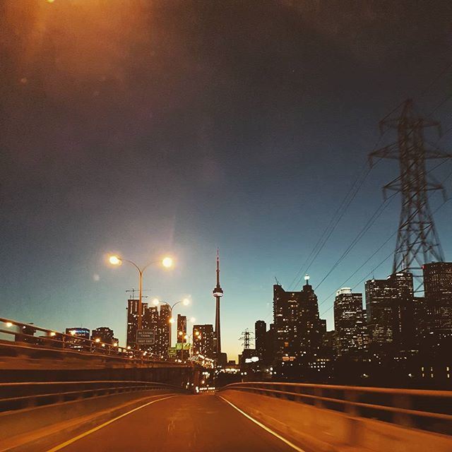 #exit on the way #home. . . . . . . . . . . #toronto #6 #vsco #vscocam