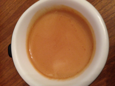 Espresso at home.