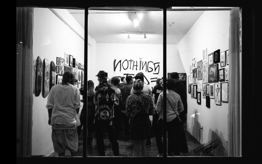 Installation view Nothings Too Precious. Pic by MorGnar