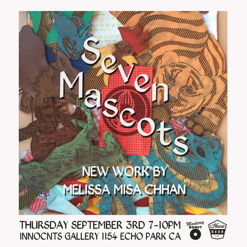 MISA CHHAN - SEVEN MASCOTS