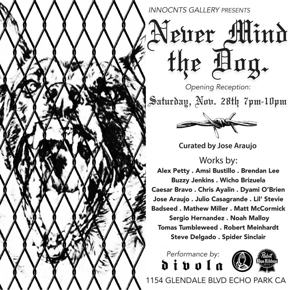 JOSE ARUJO - NEVER MIND THE DOG