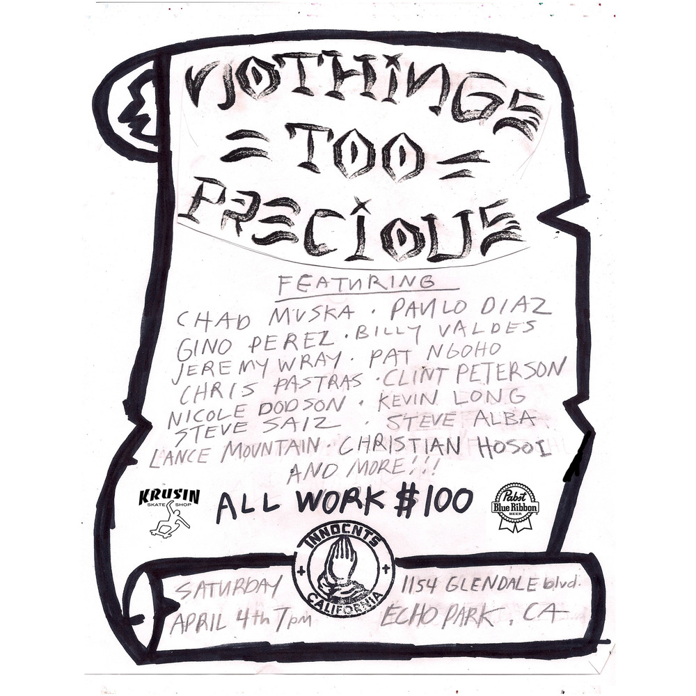 GROUP SHOW - NOTHINGS TOO PRECIOUS II