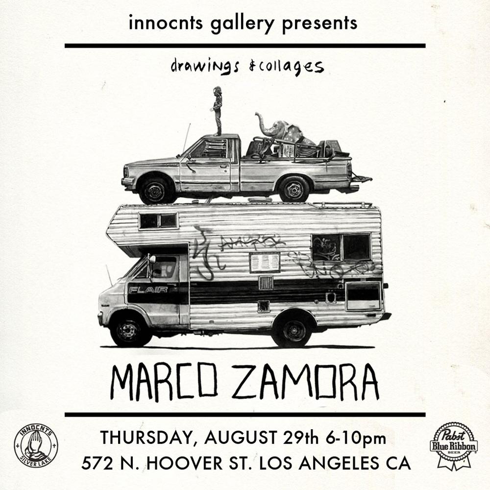 MARCO ZAMORA - NEW WORKS