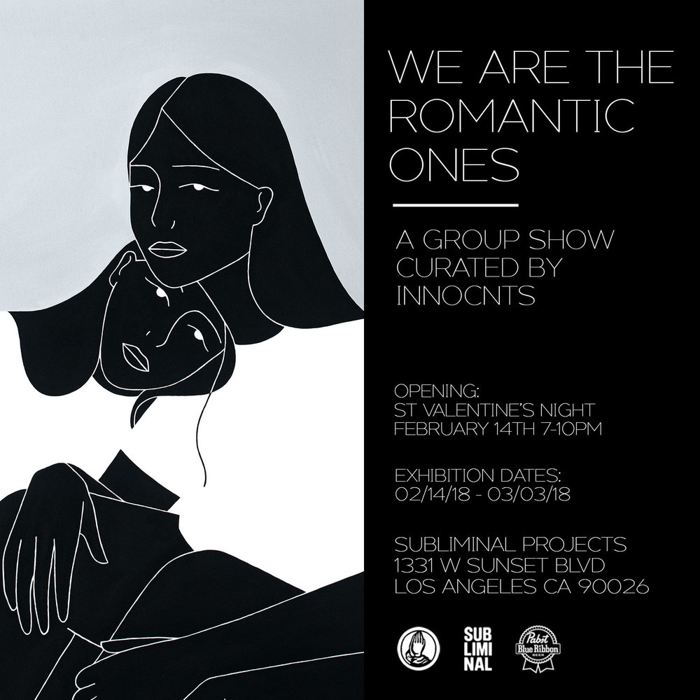 GROUP SHOW - WE ARE THE ROMANTIC ONES 2