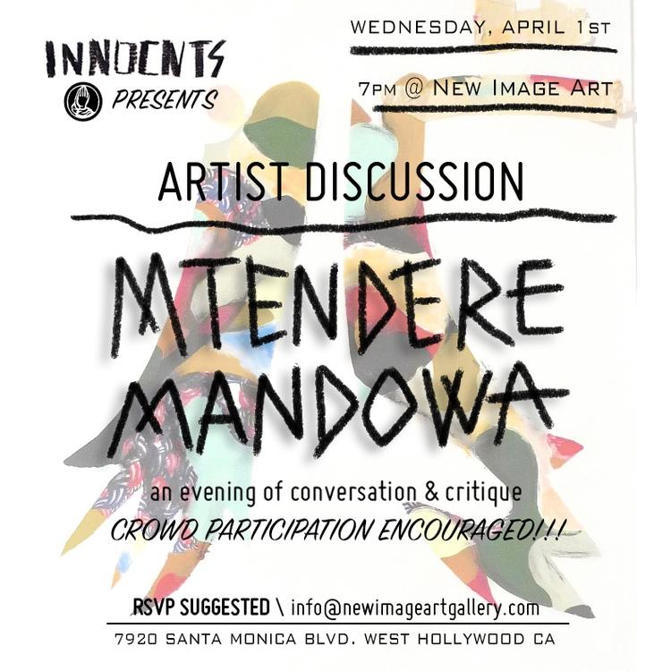 MTENDERE MANDOW - ARTIST DISCUSSION
