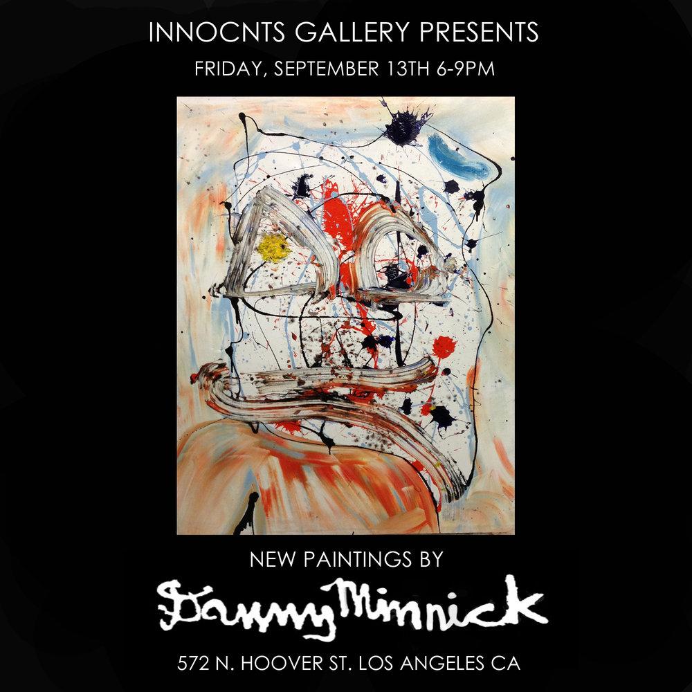 DANNY MINNICK - NEW WORKS