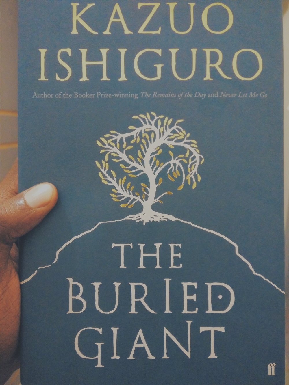 Kazuo Ishiguro's masterpiece. I think he has been hanging out too much with Neil Gaiman.
