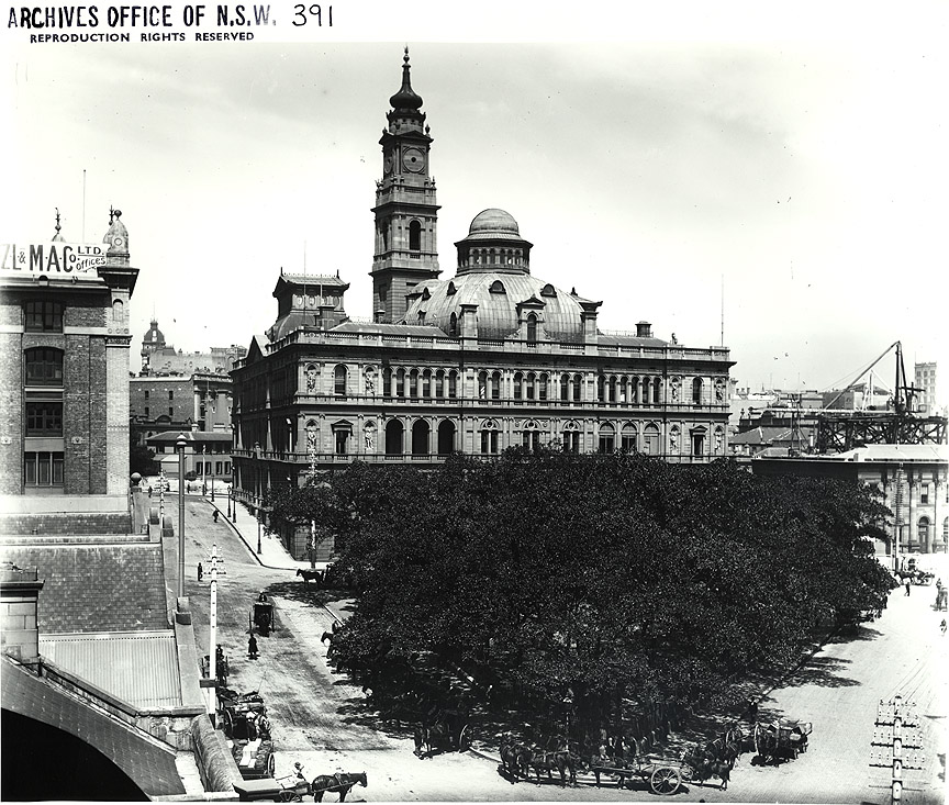 NSW Lands Dept Building c.1900