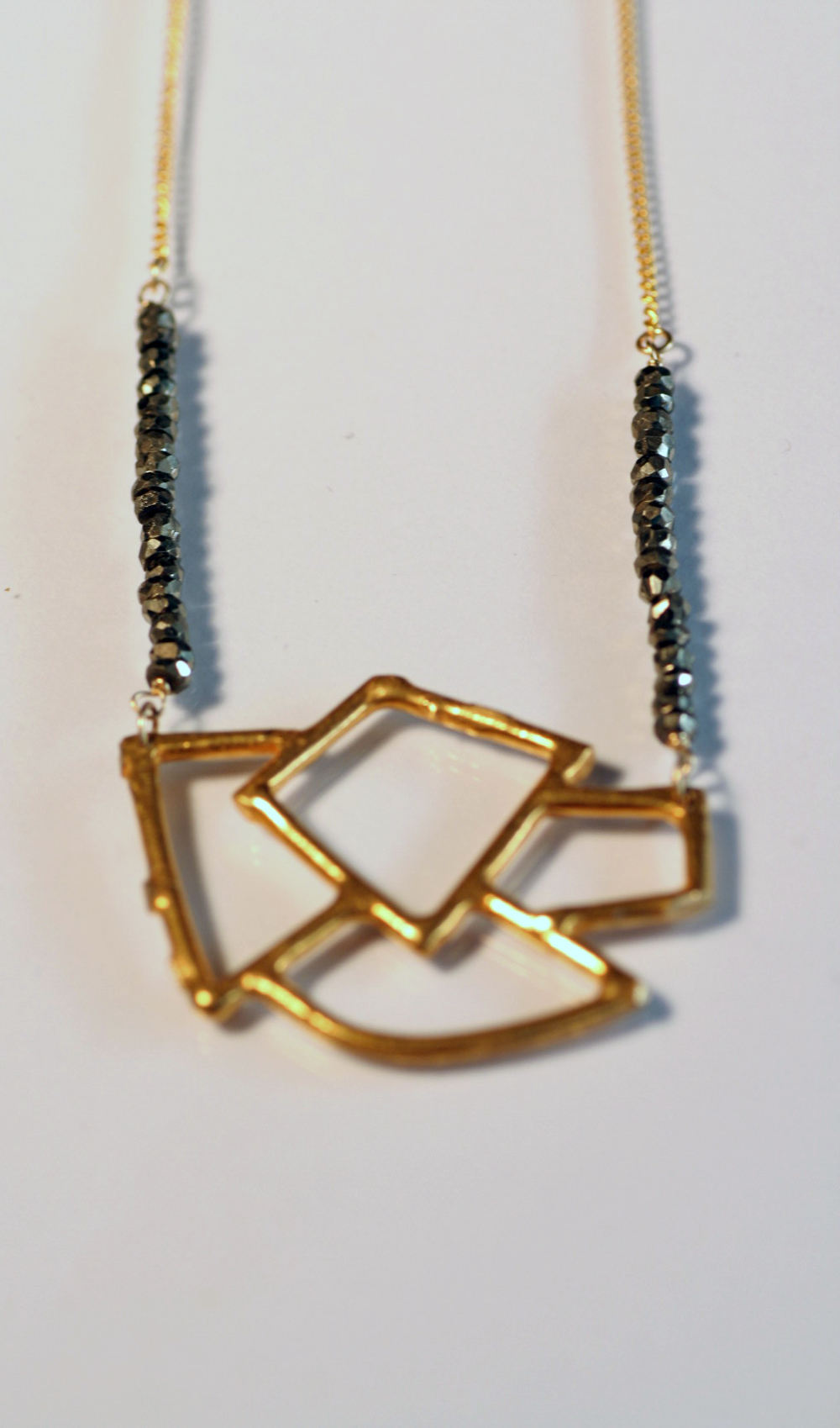 Pyrite and Gold Open Geo