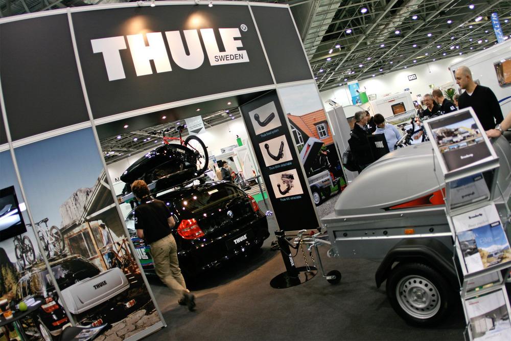 Thule Stand - 2012 Motorhome, Caravan & Camping Show