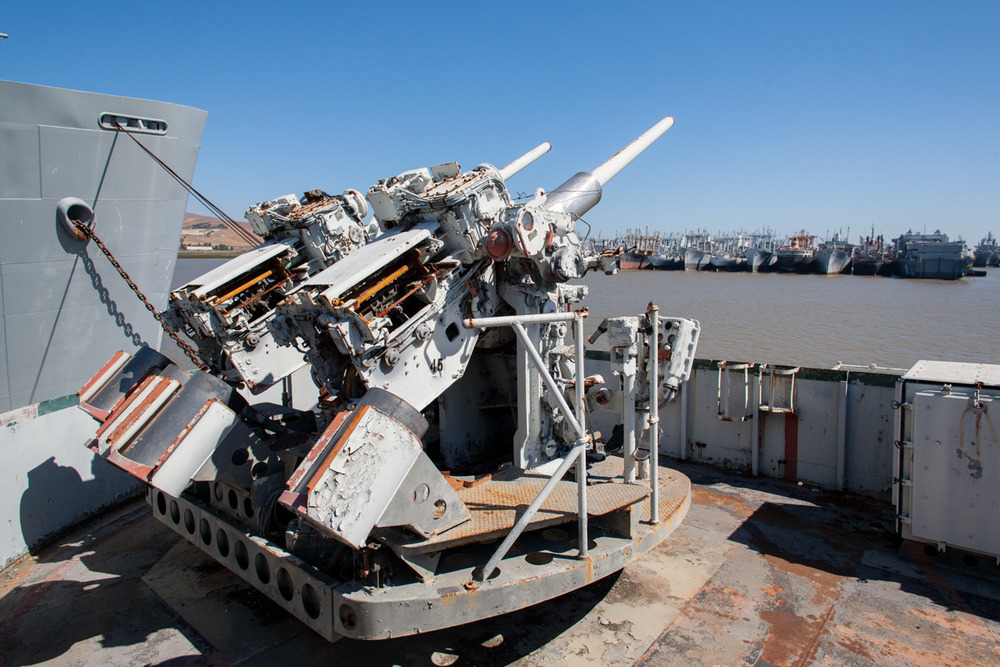 USS Tulare, attack cargo ship   Commissioned: 1956 Transfered to SBRF: 1986, dismantled and recycled in 2012