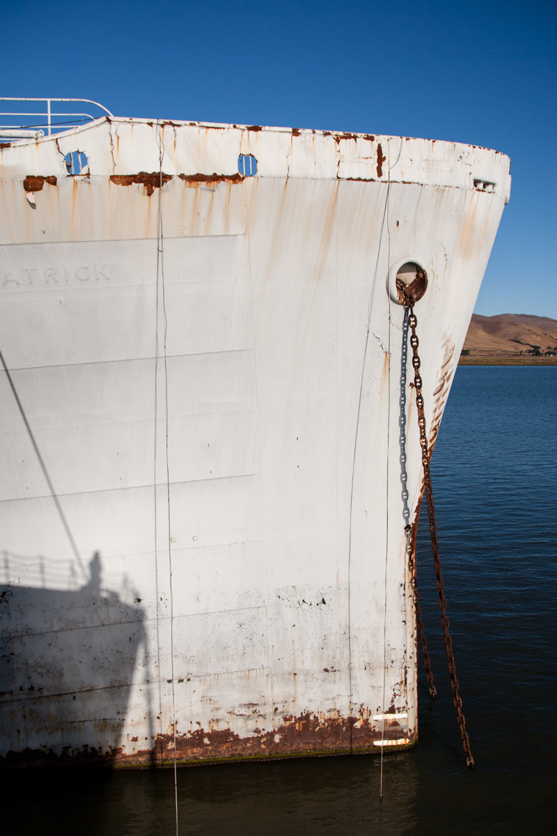 USNS General Edwin D. Patrick, troop ship   Commissioned: 1945 Transfered to SBRF: 1992, dismantled and recycled in 2010