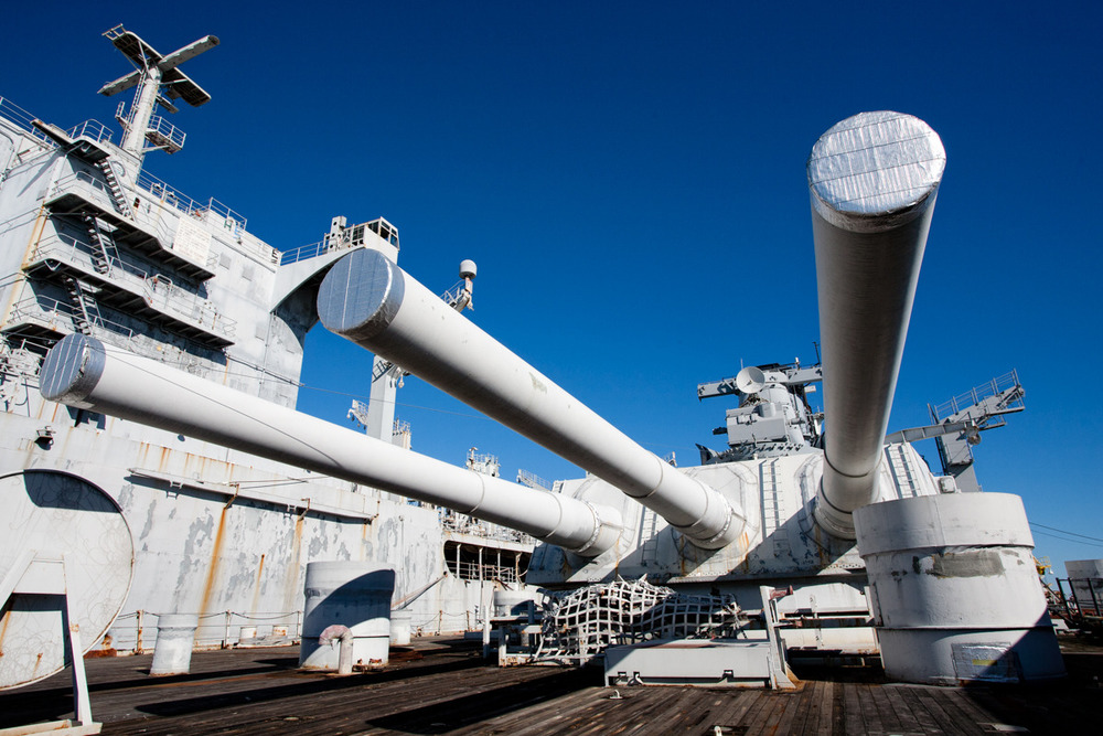 USS Iowa, battleship    Commissioned: 1943 Transfered to SBRF: 2001,  converted to  museum in 2012
