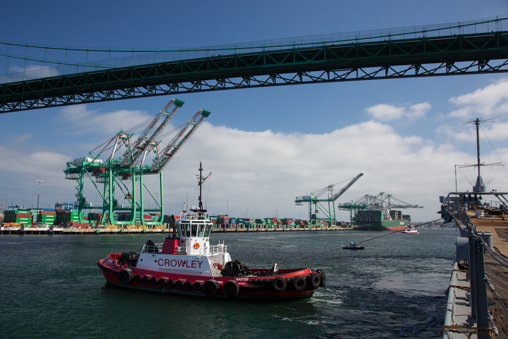 June 2012     |    Berth 52 to Berth 87, Port of Los Angeles   |    San Pedro, California