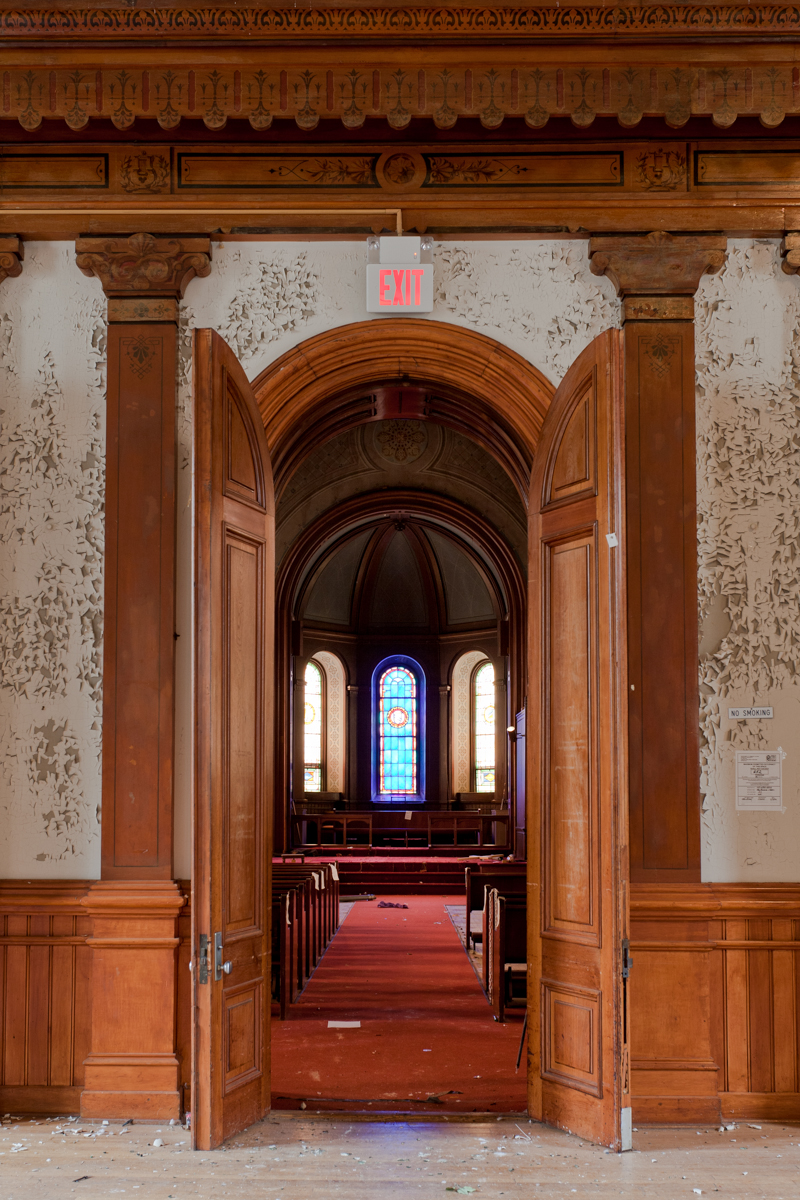 Chapel Entrance    |   Greystone Psychiatric Hospital    |    New Jersey