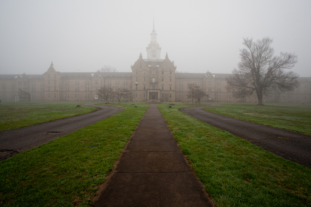 Kirkbride Building    |    Weston State Hospital    |    West Virginia