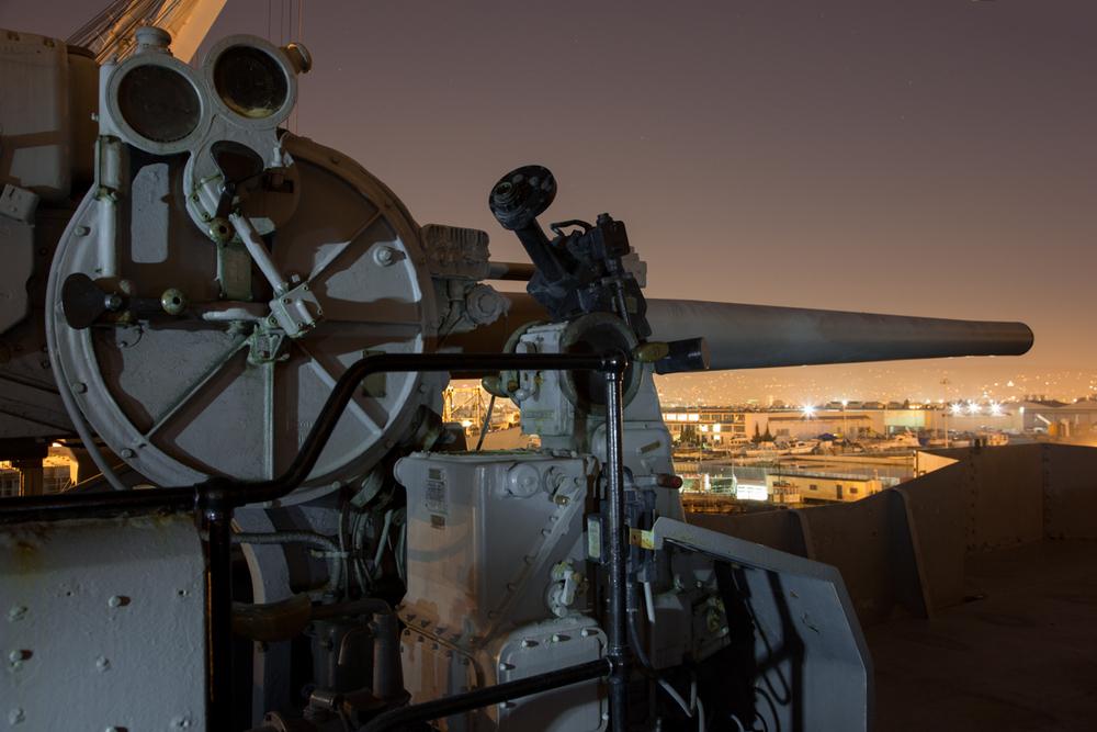 "5""/.38 caliber guns  |  USS Hornet Museum  |  Alameda"
