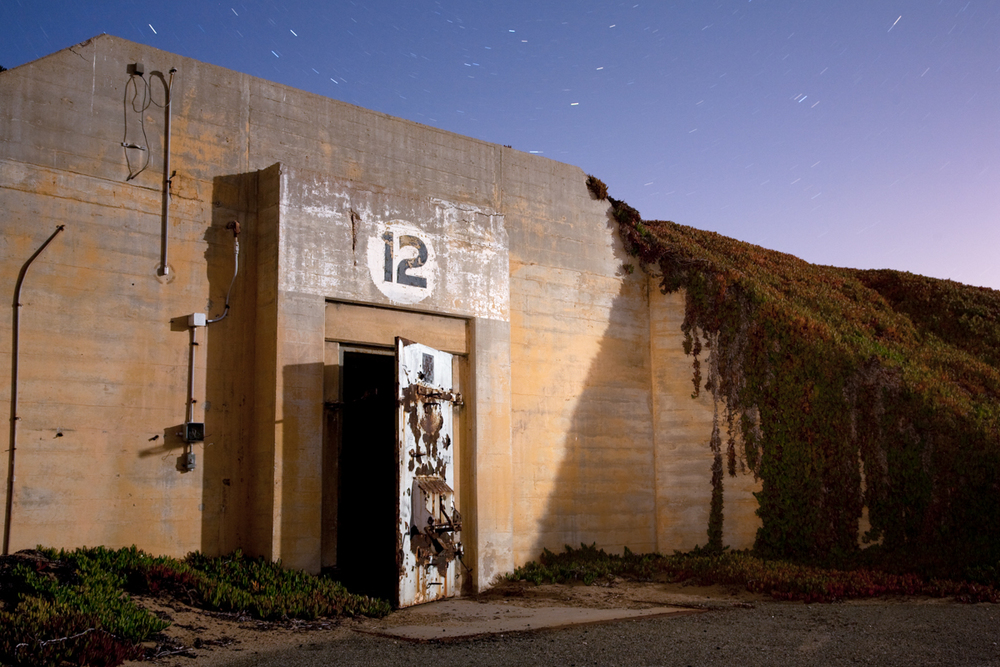 Bunker    |    Fort Ord Military Base    |    California