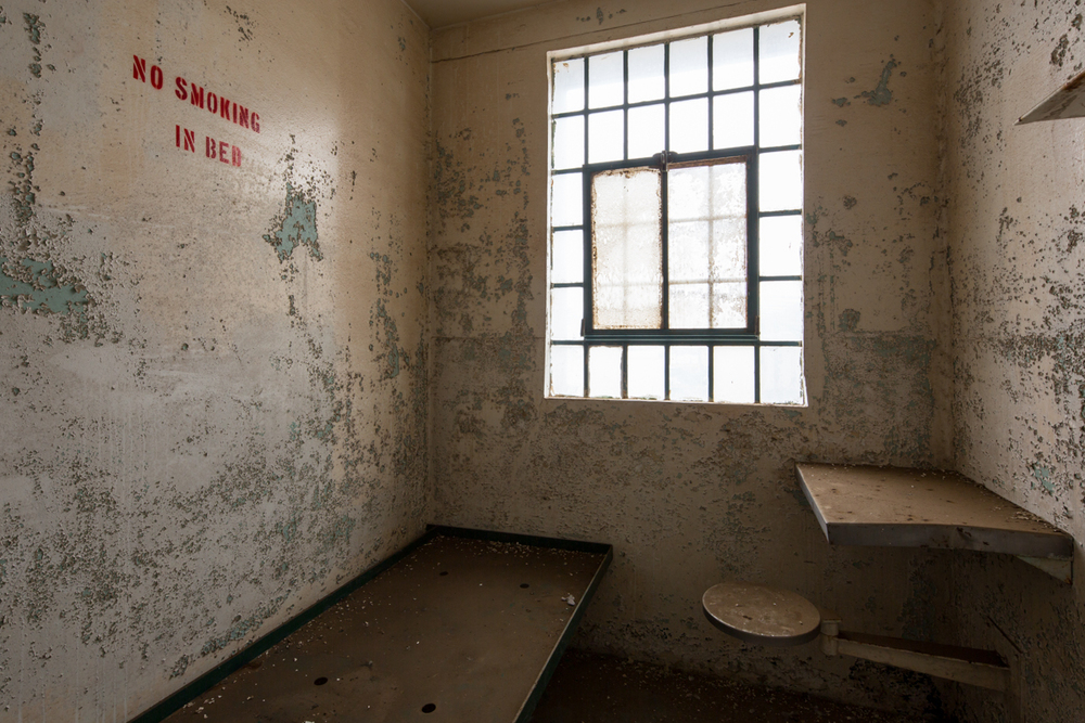 Prison Cell    |    Fort Ord Military Base    |    California