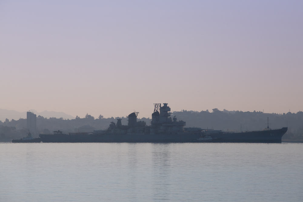 October 2011     |    Mothball Fleet to Richmond   |    California