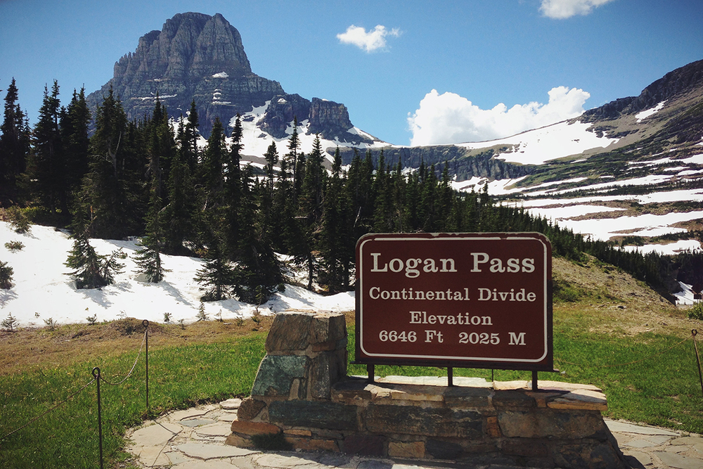Logan Pass , Glacier National Park
