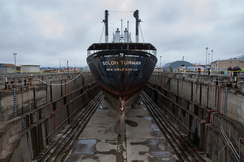 SS Solon Turman, 2012    |    Allied Defense Recycling    |    Mare Island Naval Shipyard