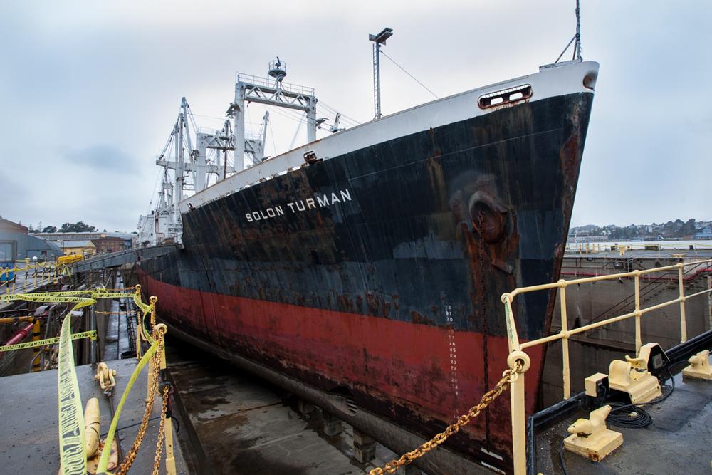 SS Solon Turman, 2012  |  Allied Defense Recycling  |  Mare Island Naval Shipyard
