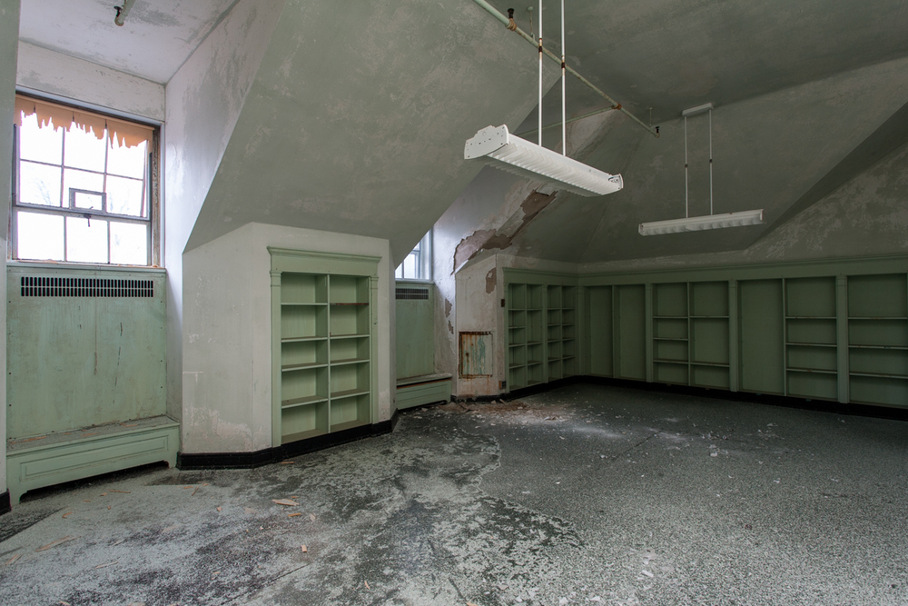 Storage Room in Mont Alto Sanatorium, Pennsylvania