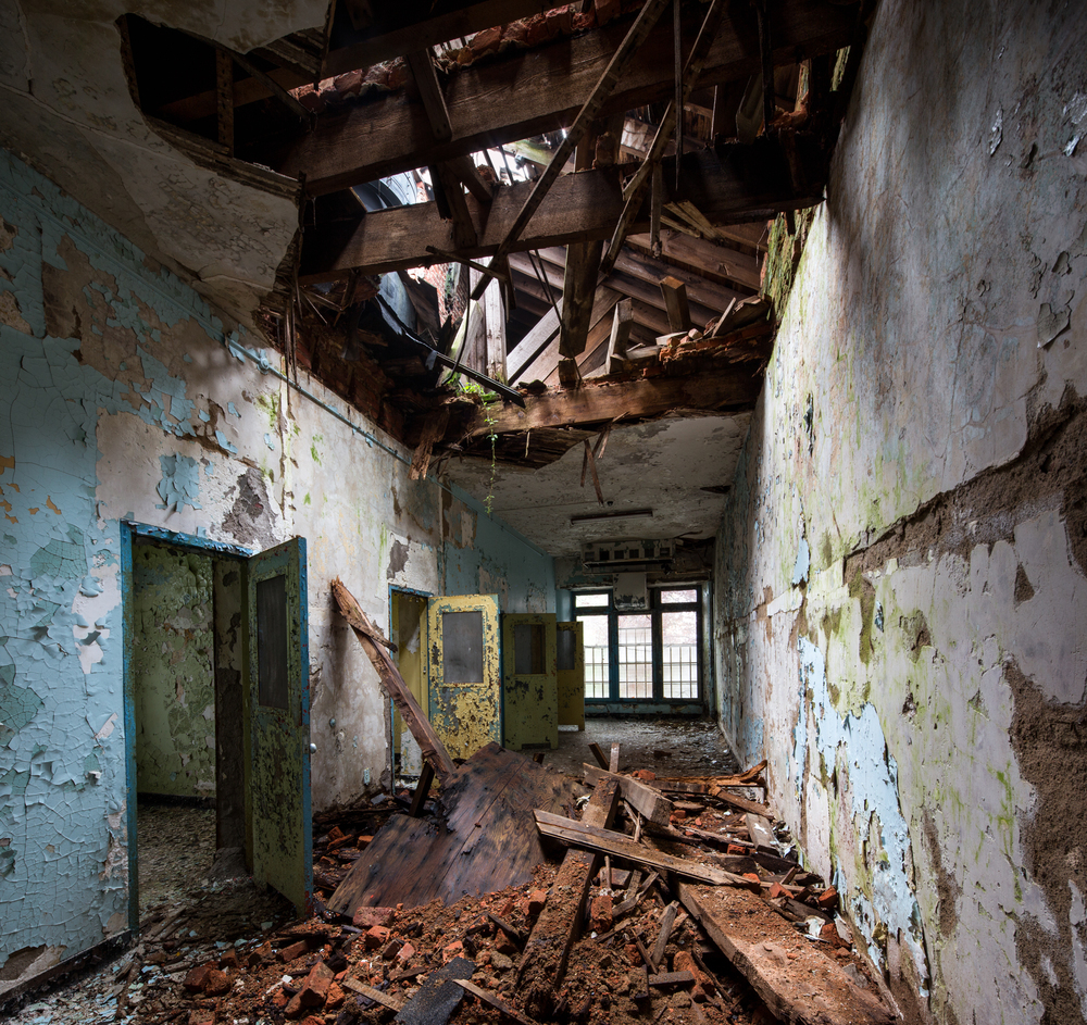 Female violent wards, Greystone Park Psychiatric Hospital - New Jersey