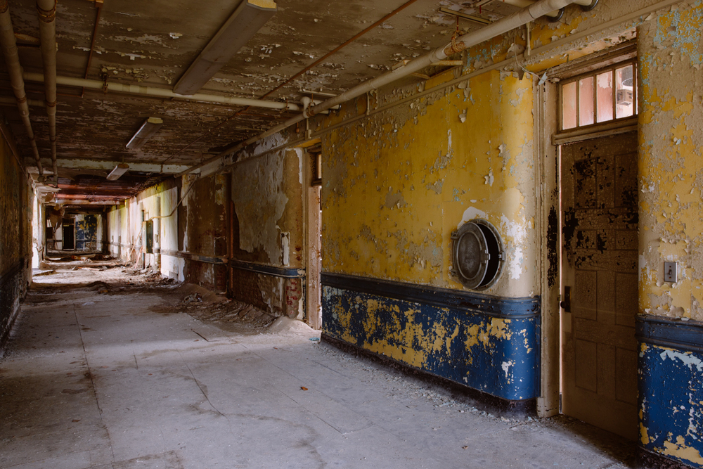 Corridor  |  Greystone Psychiatric Hospital  |  New Jersey